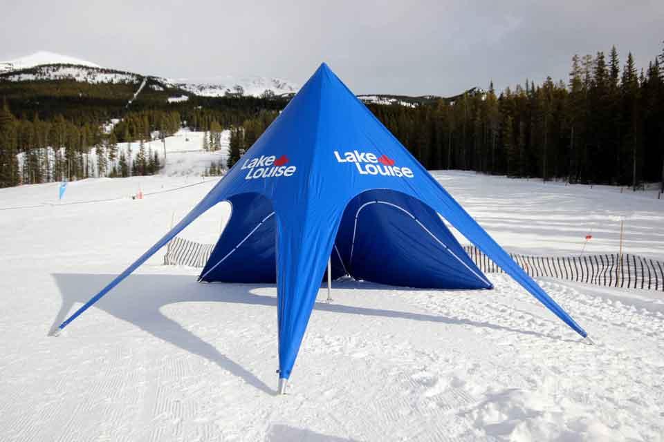 Starfull tent; Gazebo a stella; Star shade; X-gloo