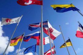 Bandiere personalizzate; Bandiere flag nautico; Fahnen; Knatterfahnen; NAtional Flag; Custom flag; Werbefahnen; Nationenfahnen; Bundesländerfahnen; Gemeindefahnen; Oriflamme; Drapeaux