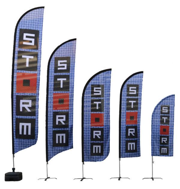 Pennoni a Vela; Beach flag; Pennoni; Bandiere pubblicitarie; Bandiere personalizzate; Fahnen; Knatterfahnen; Custom flag; Event flag; Easy flag; Werbefahnen; Drapeaux; Oriflamme