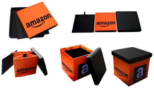 Cubo pieghevole personalizzato; Cubo pouf; pouf pieghevole stampato; Folding cube; Custom print folding cube