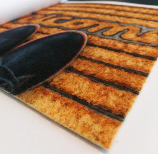 Tappeto stampa digitale; Zerbino personalizzato; Tappeto personalizzato; Passatoia personalizzata; Tappeto pubblicitario; Advertising carpet