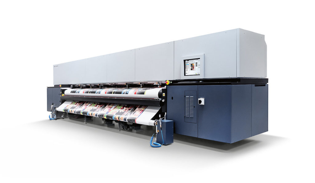 Stampa grande formato; Wide format printing; Durst 512R LED